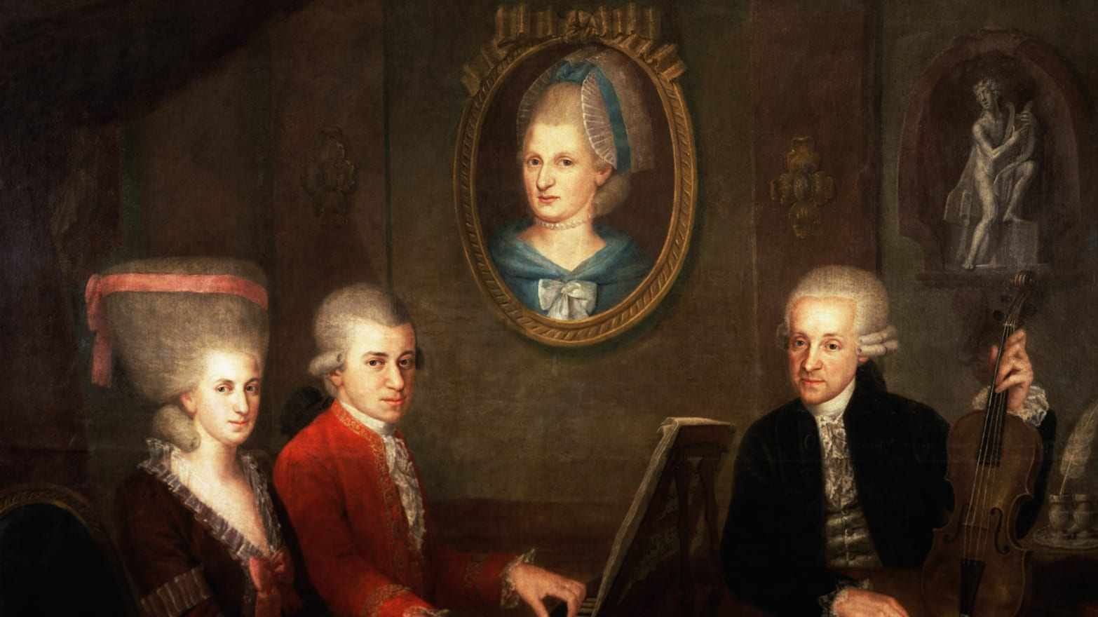 What Mozart Really Looked Like: 14 Portraits of the Composer