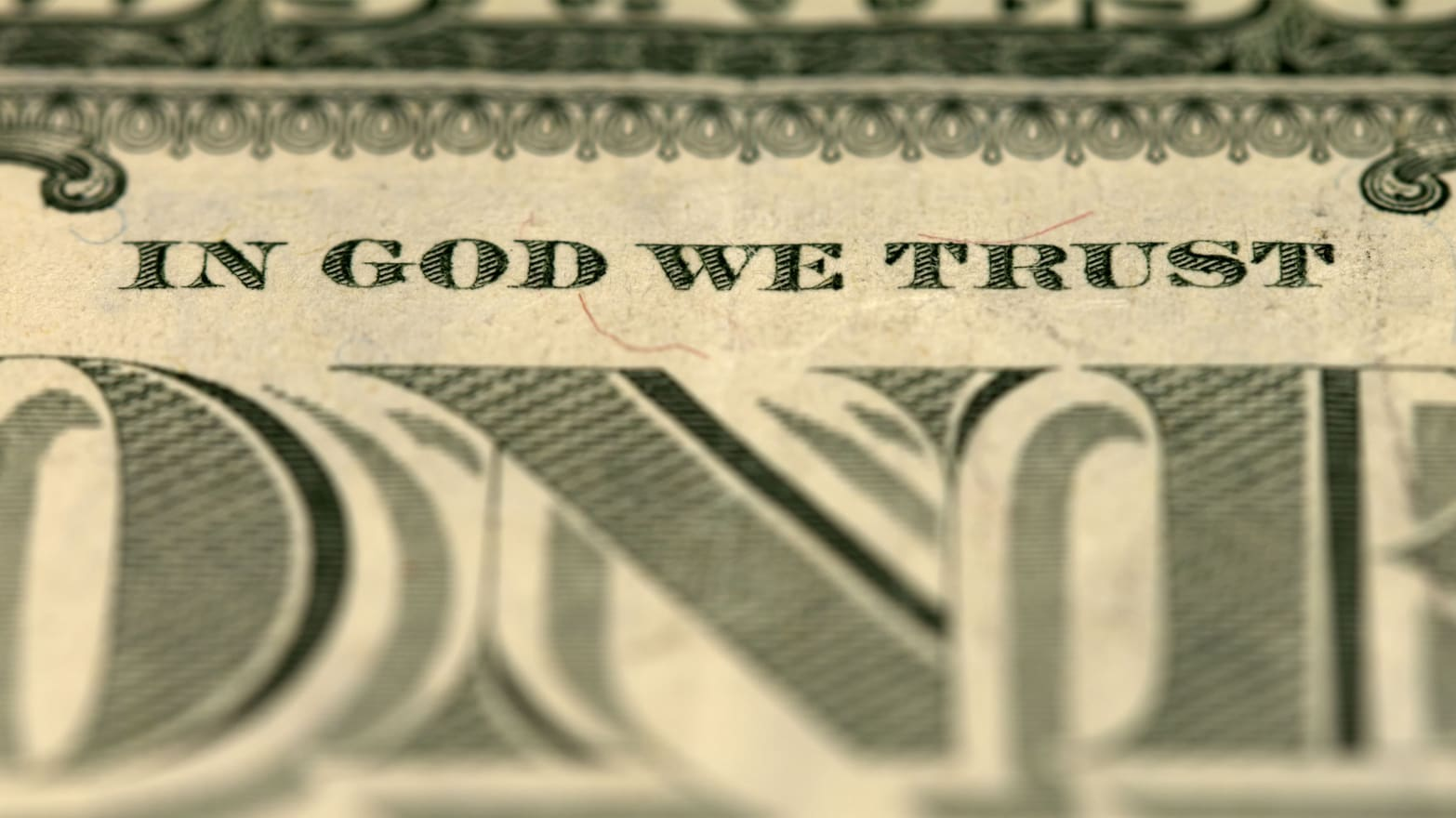 In God We Trust' Doesn't Mean What You Think It Does