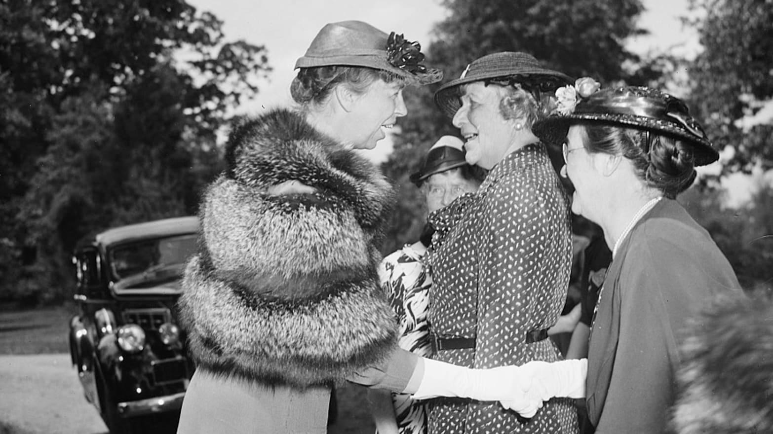 Eleanor Roosevelt Feminist Icon