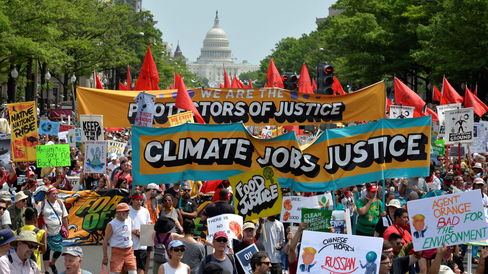 New Research Suggests Climate Marches Sway Public Sentiment