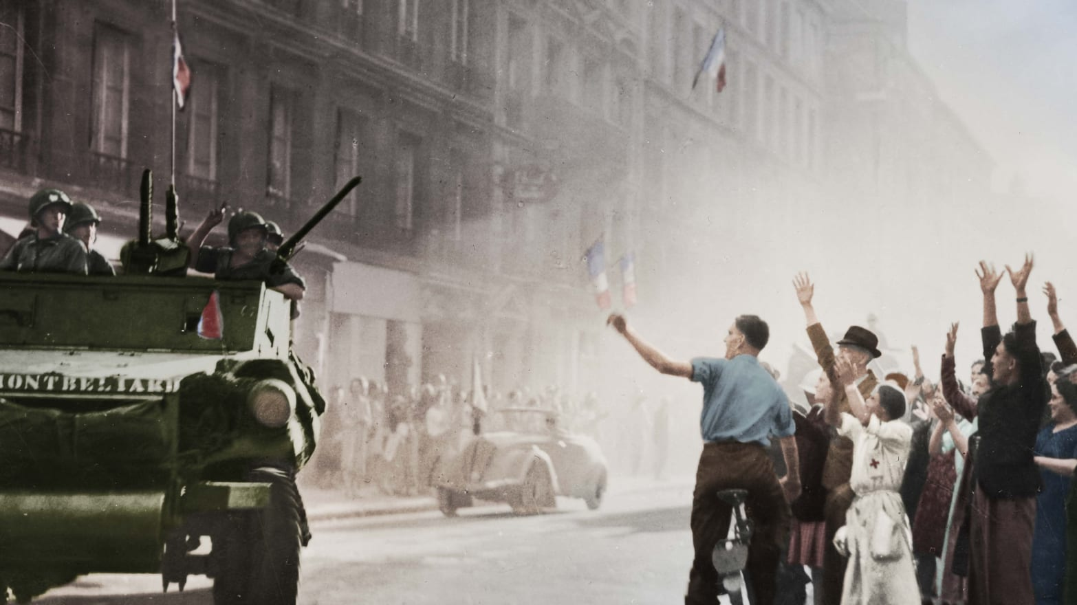 Who Liberated Paris in August 1944?