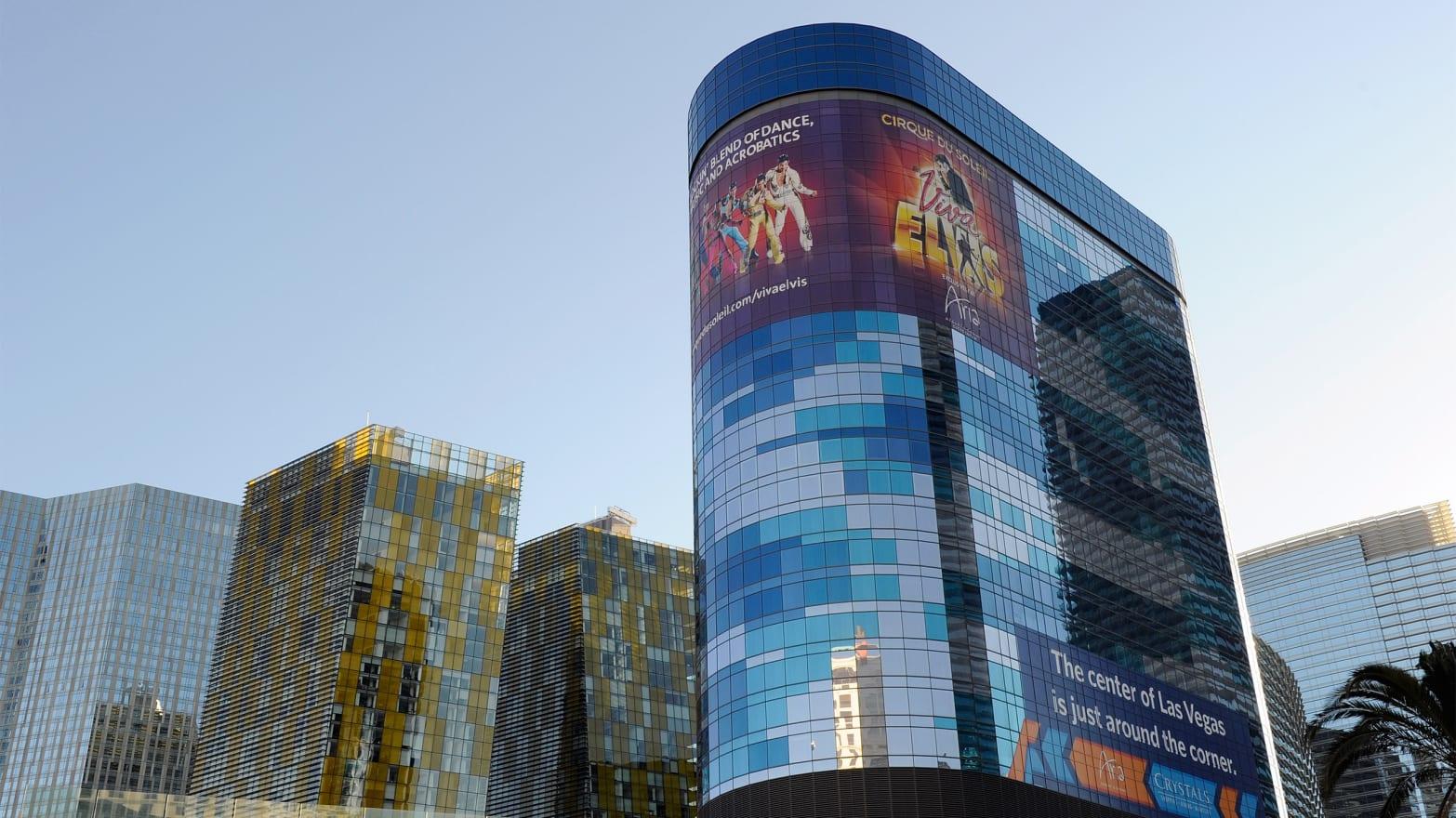 Las Vegas' Incredible Shrinking Tower