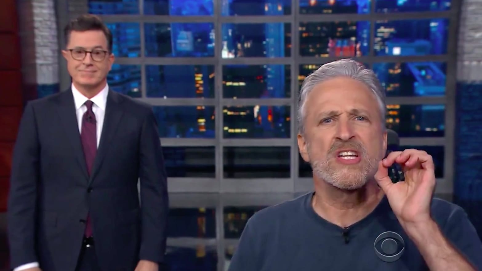 Jon Stewart Unloads on 'Sociopath' Trump: 'What the F*ck Is Wrong with This Guy?'