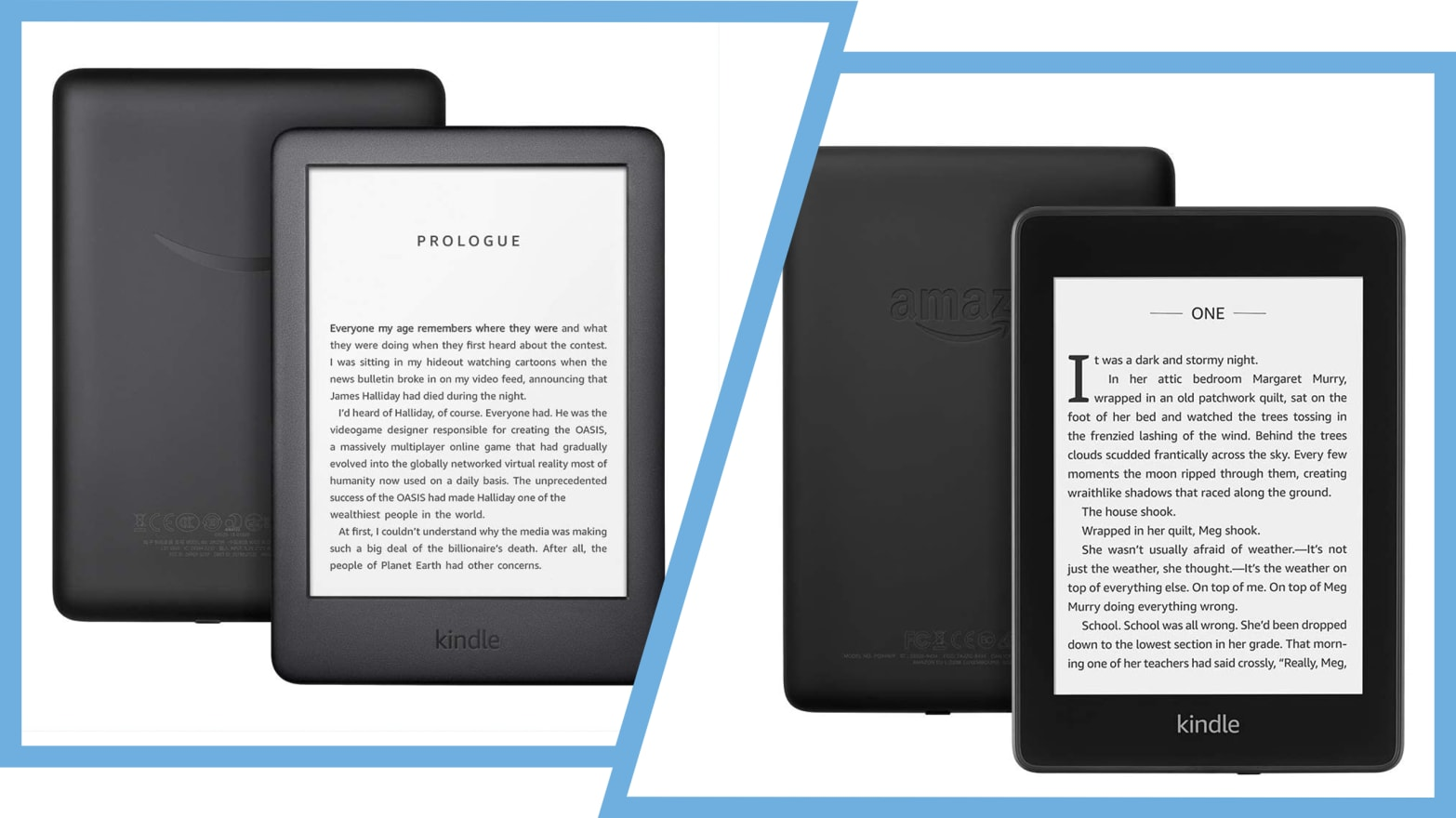 What's the Difference Between the Kindle and Kindle ...