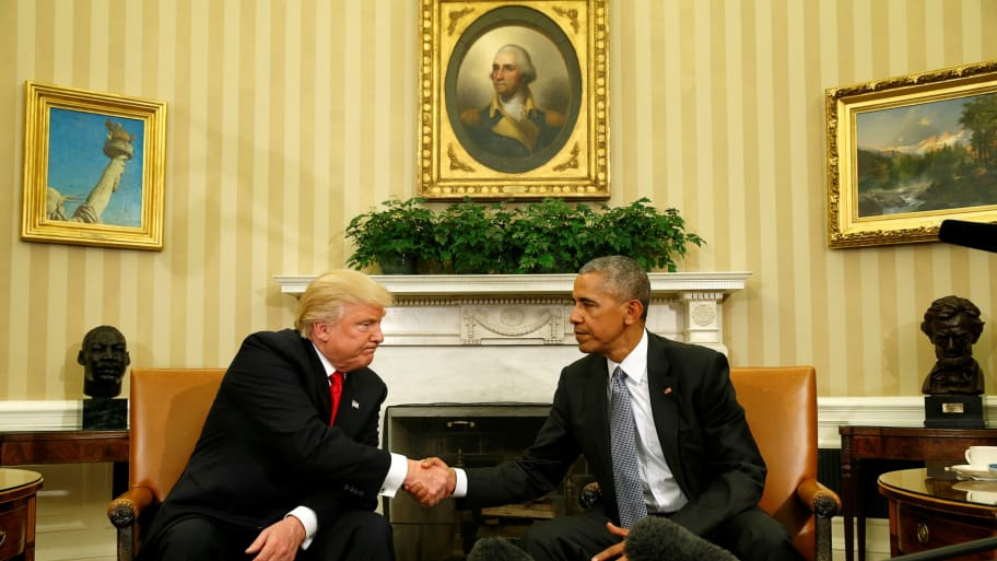 Obama Oval Office Address Not So Much >> Obama Trump Have Excellent Oval Office Meeting