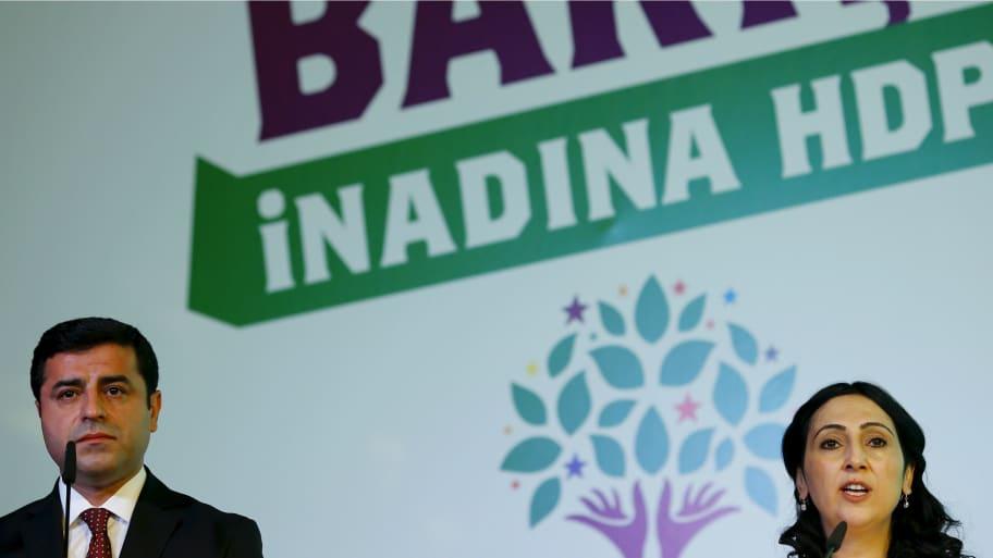 Outrage as Turkey Seizes Top Kurdish MPs