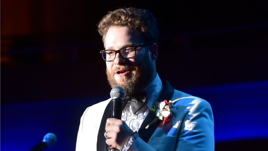 05f423f5d61 Michael Buckner/Getty Images. Apple co-founder Steve Wozniak will be played  onscreen by Seth Rogen ...