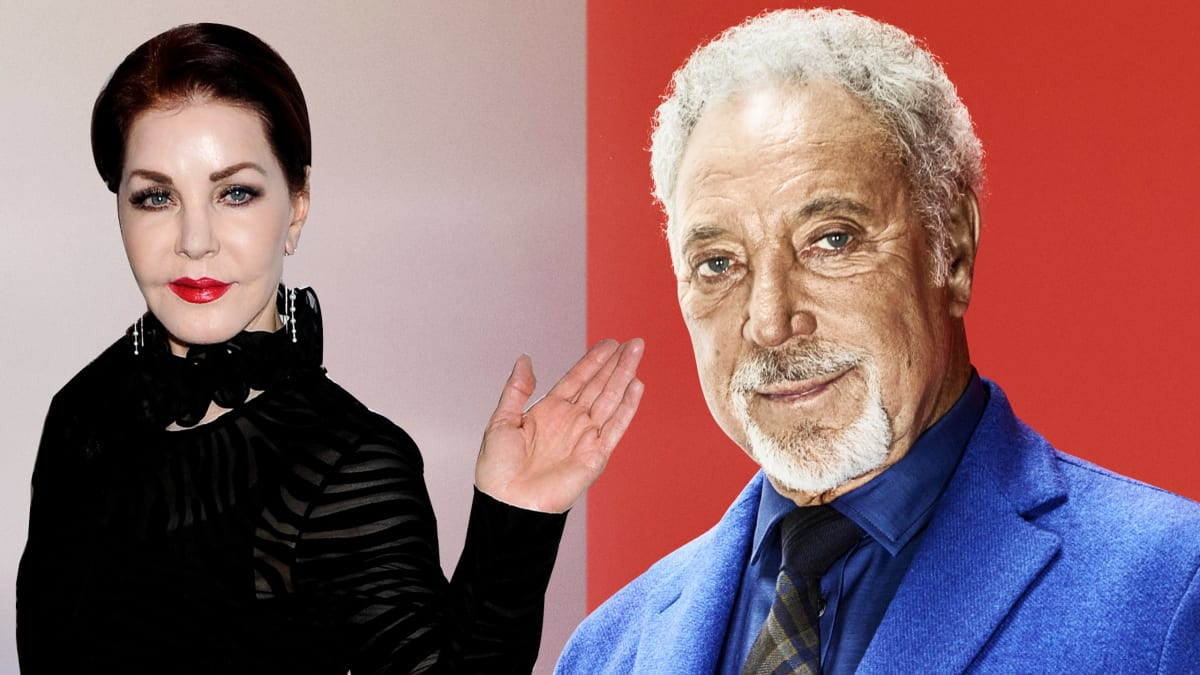 Priscilla Presley Dating Sir Tom Jones