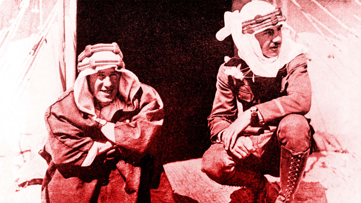 T.E. Lawrence and the Desert Bromance That Sold America on a War