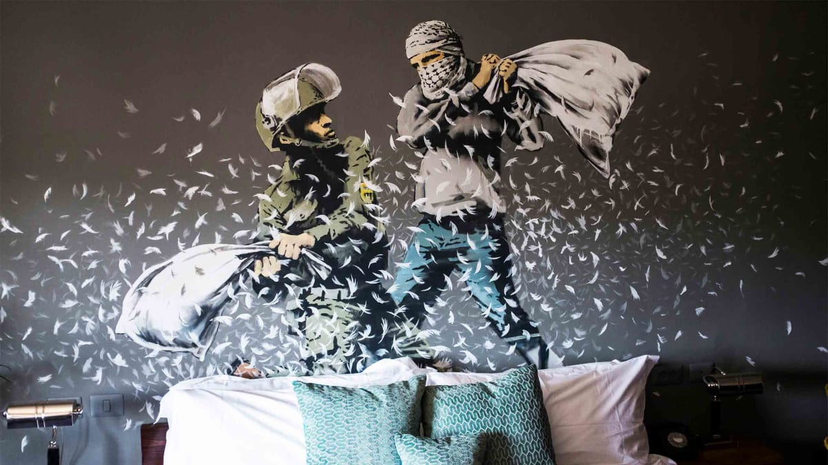 Is British Street Artist Banksy Really Four People?