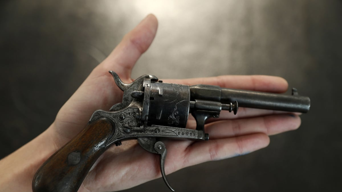 The Most Famous Gun in Literary History Sells for Half a Million