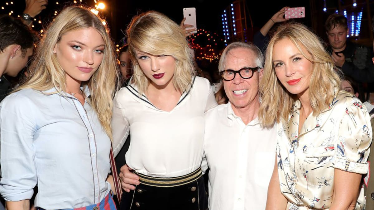 Gigi Hadid's Hilfiger NYFW Show Reunites Taylor Swift's Girl Squad