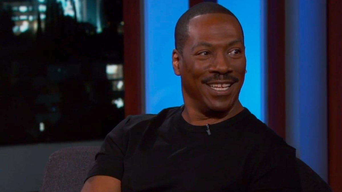 Eddie Murphy Teases Return to Stand-Up, Mocks Bill Cosby on 'Jimmy Kimmel Live'