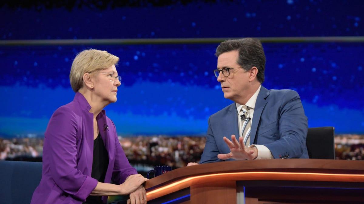 Elizabeth Warren: Trump Sounded Like 'Two-Bit Dictator' in RNC Speech