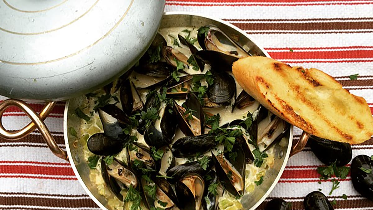 How to Make President Taft's Mussels