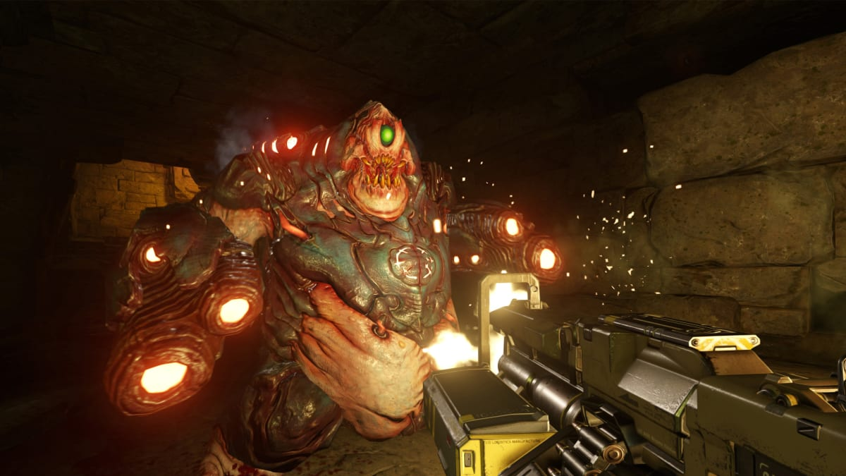 'DOOM' Is a Bloody, Balls to the Wall Video Game Triumph
