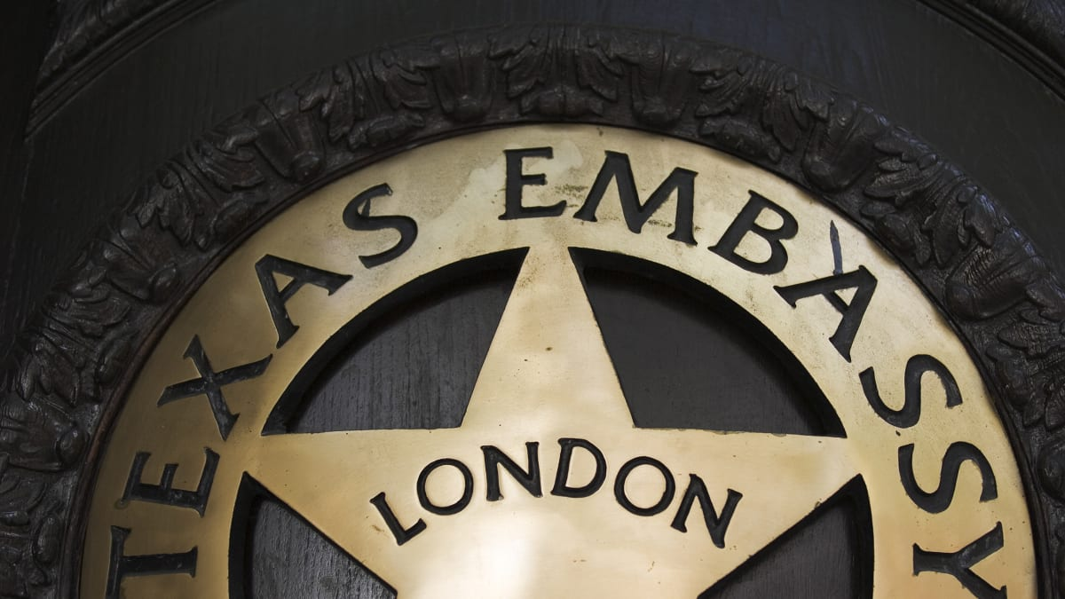 Inside the Texas Embassies in London and Paris