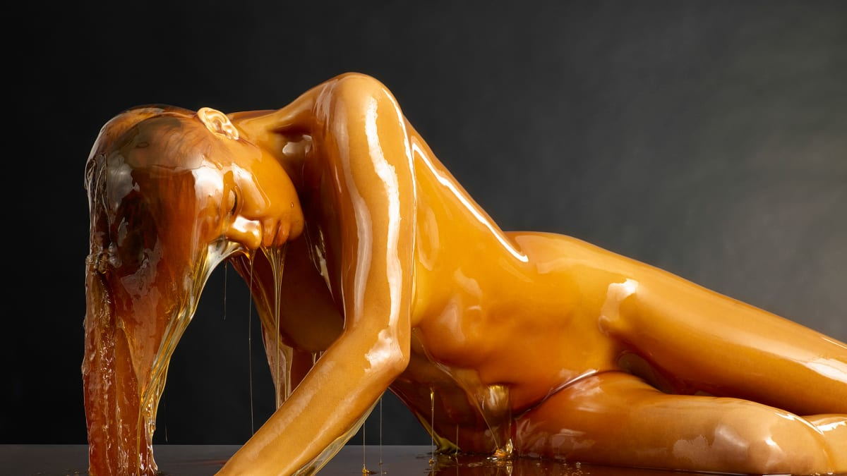 The Artist Who Ditched Tom Cruise For Honey-Covered Nudes