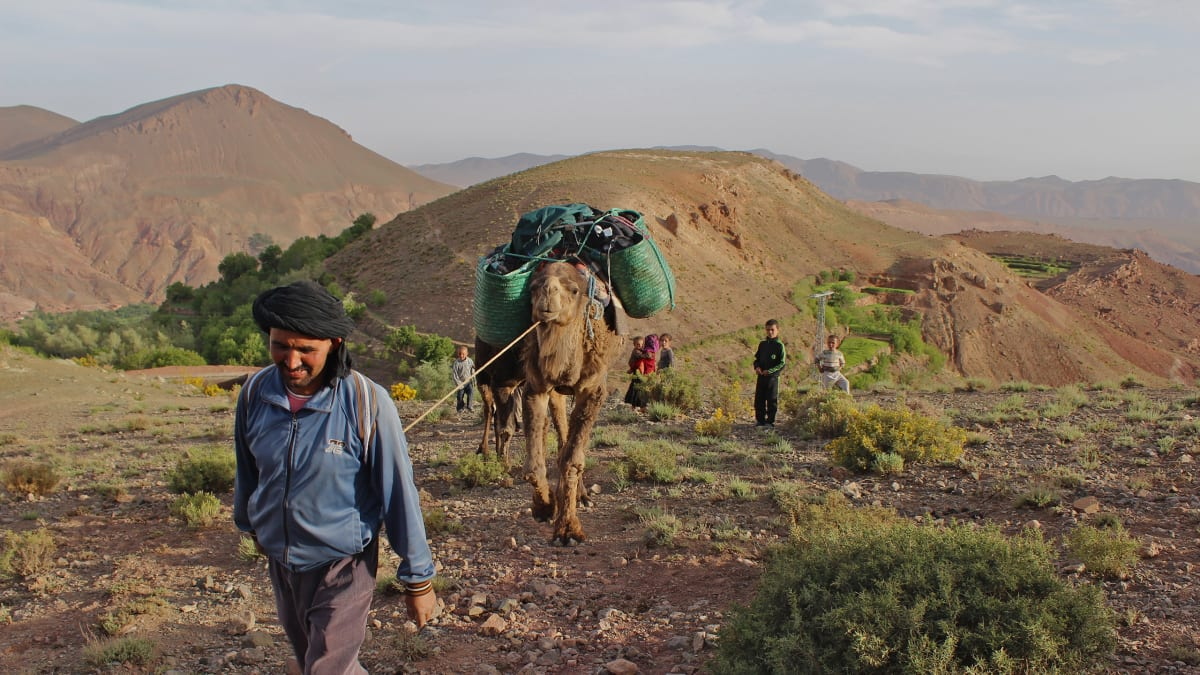 On Foot in the High Atlas Mountains of Morocco