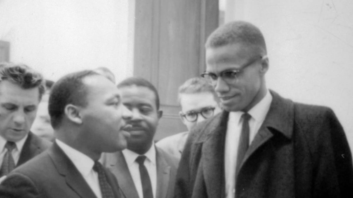 essays on malcolm x and martin luther king The comparison and contrast of dr martin luther king and malcolm x's life dr martin luther king and malcolm x were great african-americans that base their lives to stop the discrimination of people who were different than the whites (mainly african-americans).