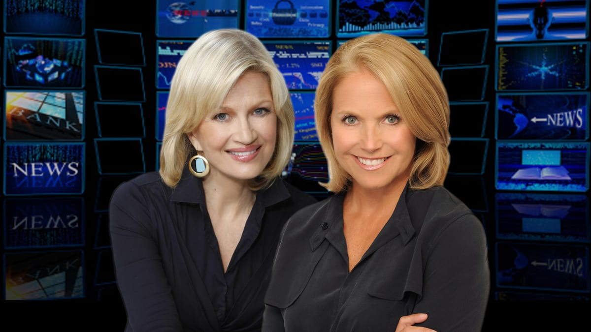 Katie Couric on Diane Sawyer: 'I Wonder Who She Blew This Time'