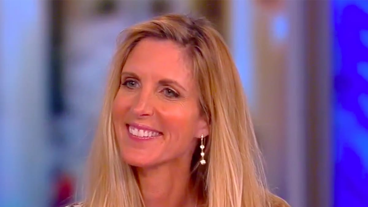 Ann Coulter Barely Defends Trump on 'The View': He 'Doesn't Lie, He's a B.S.-er'