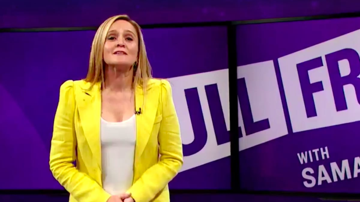 Samantha Bee Tears Into Trump's 'Clusterf*ck of Ineptitude' on James Comey