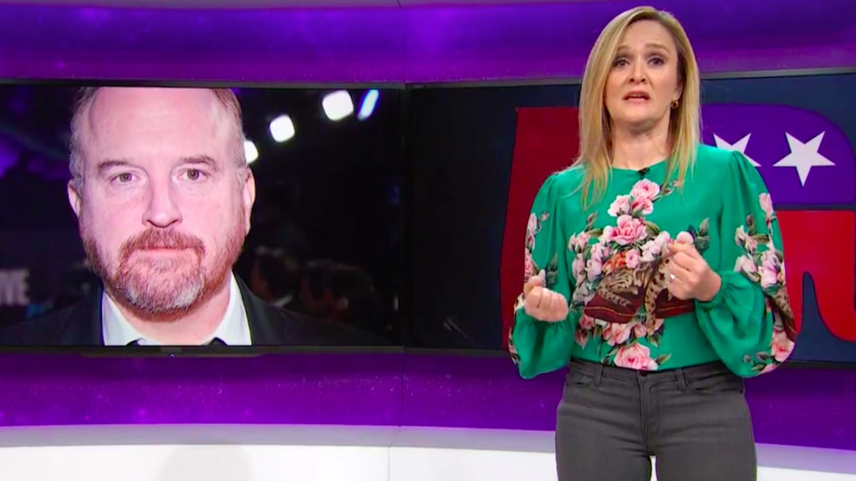 Samantha Bee Calls Out 'Critically Acclaimed Pervert' Louis C.K.