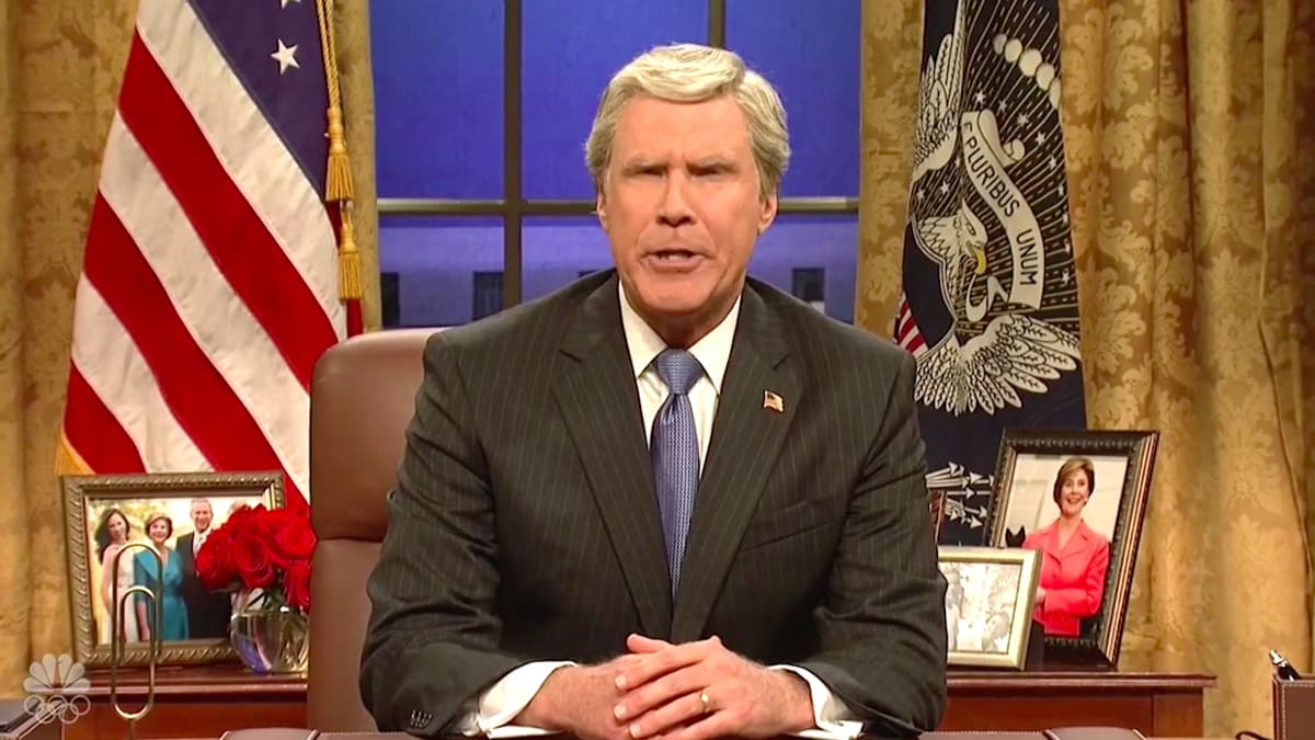 SNL: Will Ferrell's George W. Bush Reminds America How 'Bad' He Was