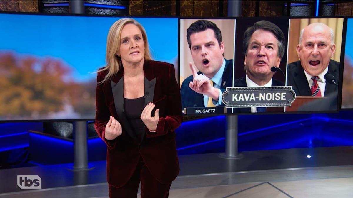 Samantha Bee Tears Into GOP's 'Shrill' Impeachment Defense