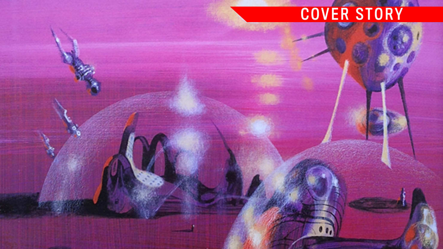 Cover story: Surrealism of Richard Powers Picketing Books 79