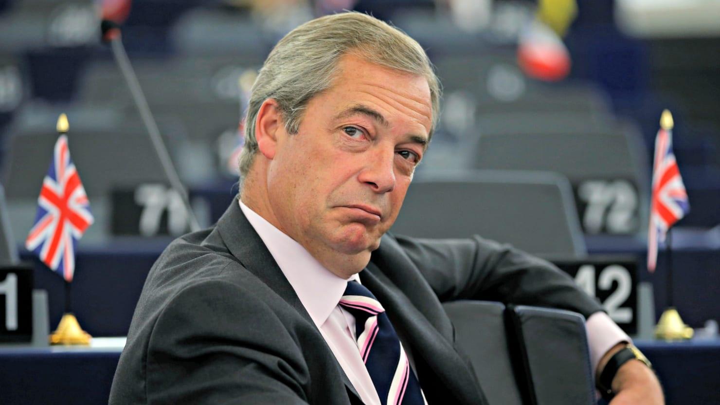 Fox News Hires Nigel Farage