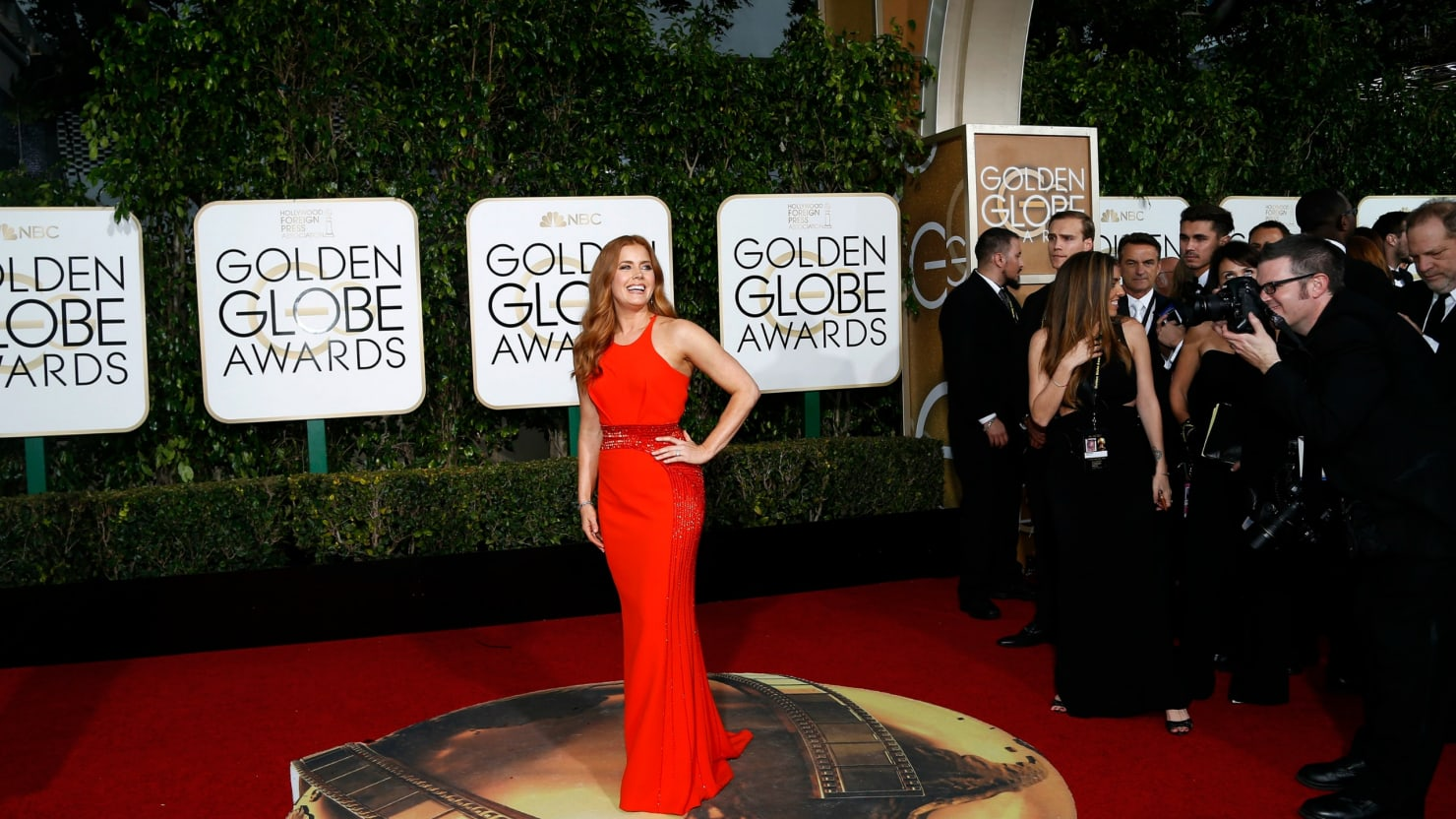 live on the red carpet golden globes