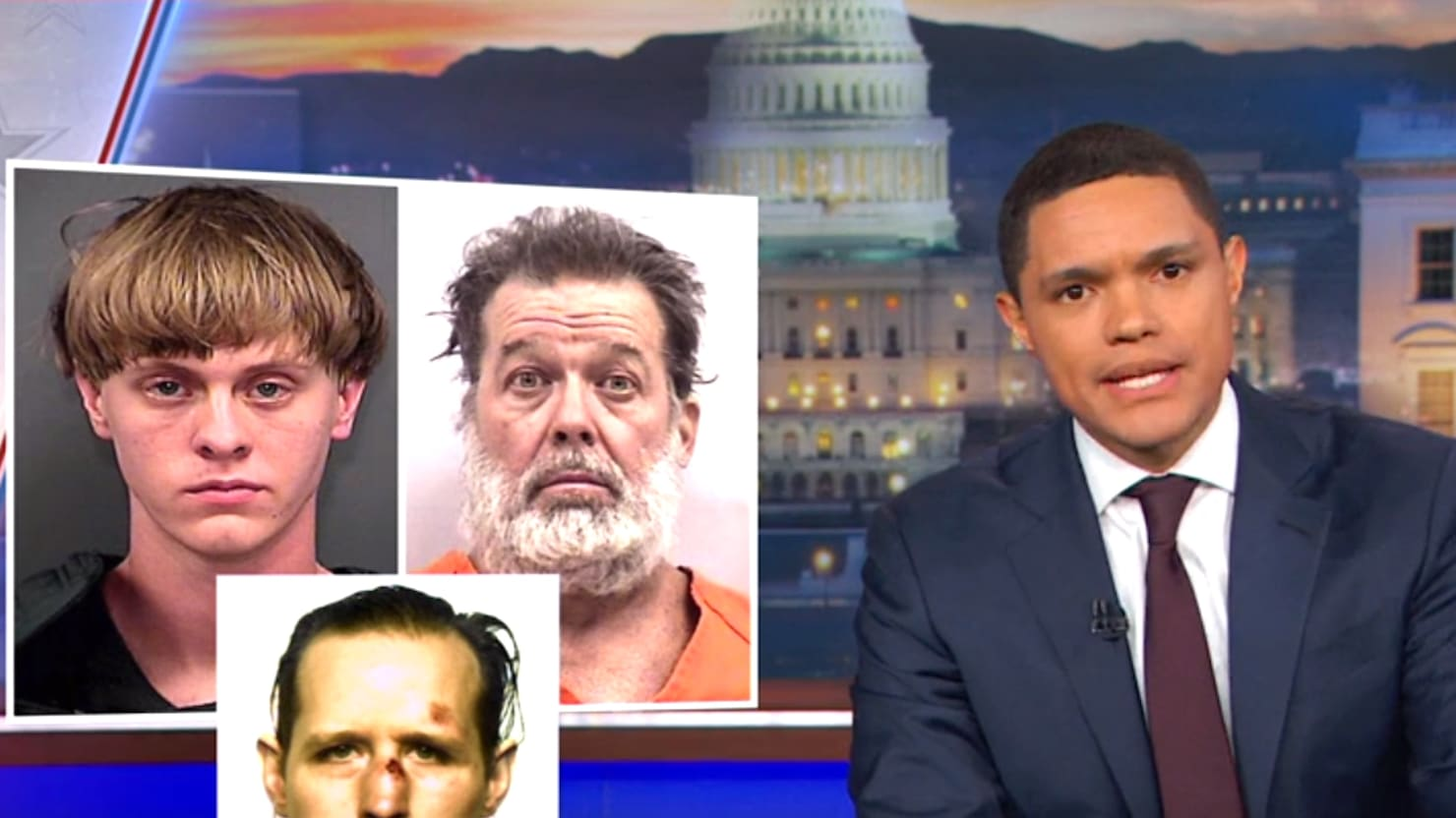 'Daily Show's' Trevor Noah Calls Out Trump for Ignoring 'White' Terrorism