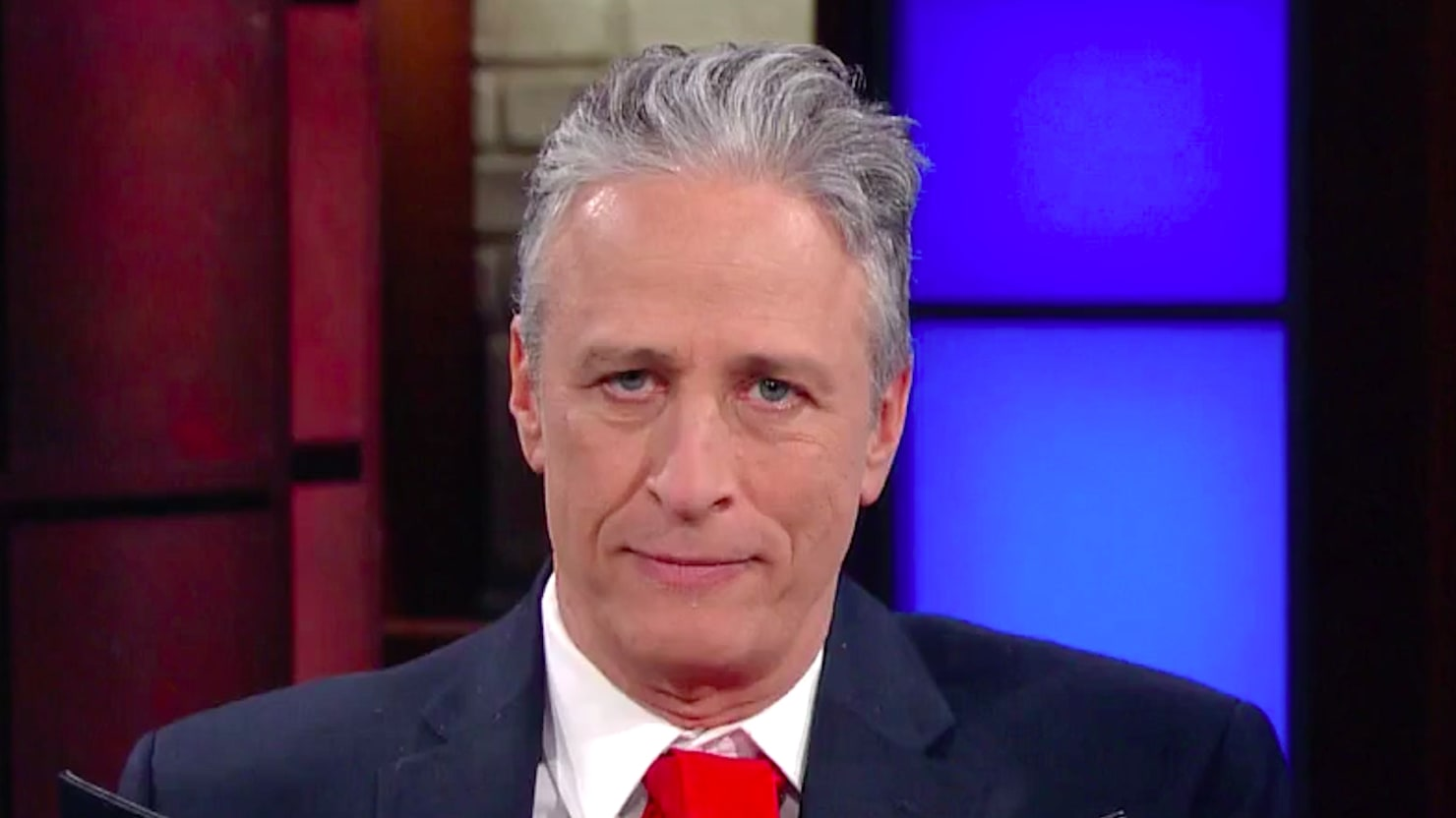 Jon Stewart Rips Apart President Trump: 'The New Official Language of the United States Is Bullshit'