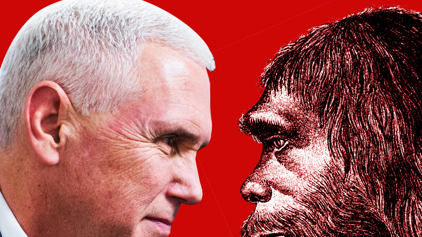 Charles Darwin Would See Right Through Mike Pence