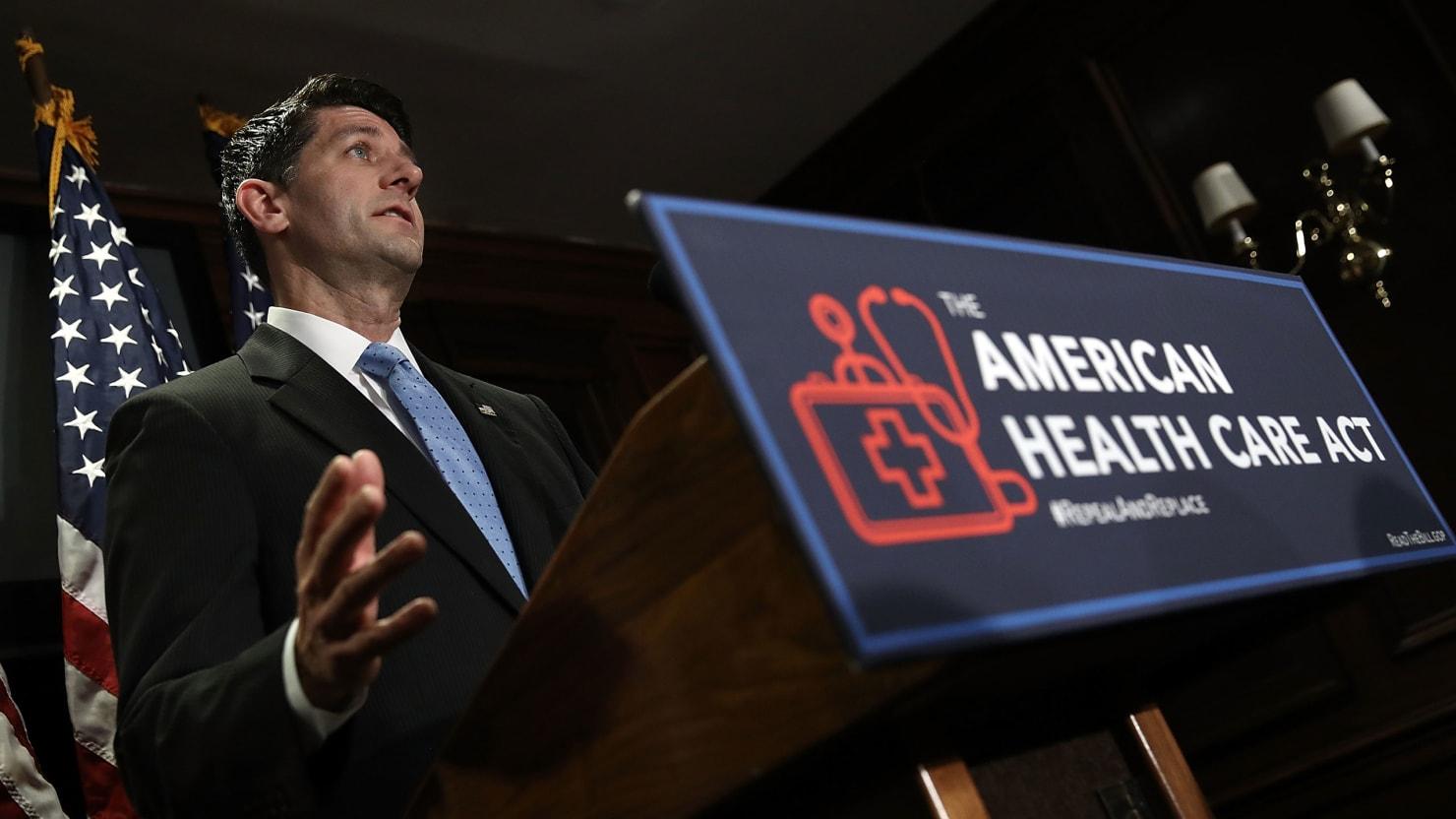 Donald Trump Joins Paul Ryan's 'Health-Care' Crusade—Sad!