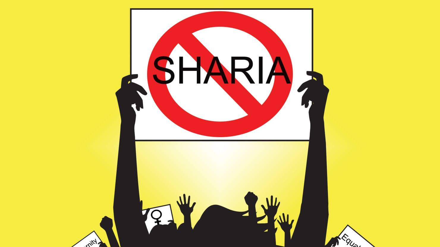 On This 'Day Without a Woman,' Don't Leave Women Oppressed by Sharia Law Behind