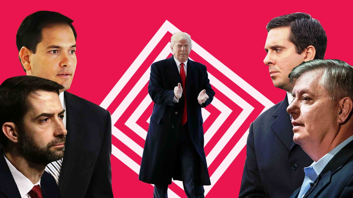 Republicans Just Watch as Donald Trump Goes Wild