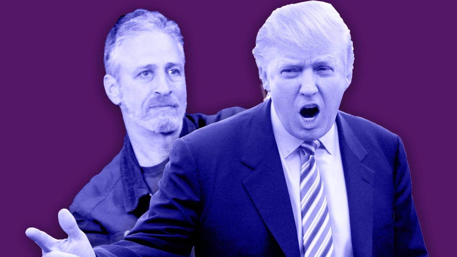 Revisiting Donald Trump's Anti-Semitic Attacks Against Jon
