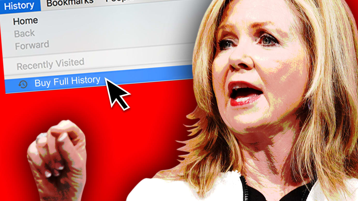 This Politician Gave Away Your Data. Now Buy Hers.