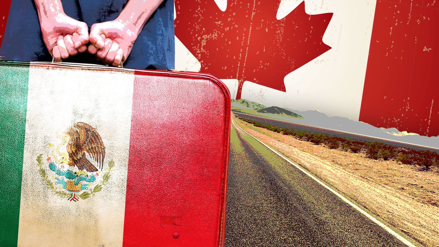 Mexican Immigrants Flee U.S. for Canada