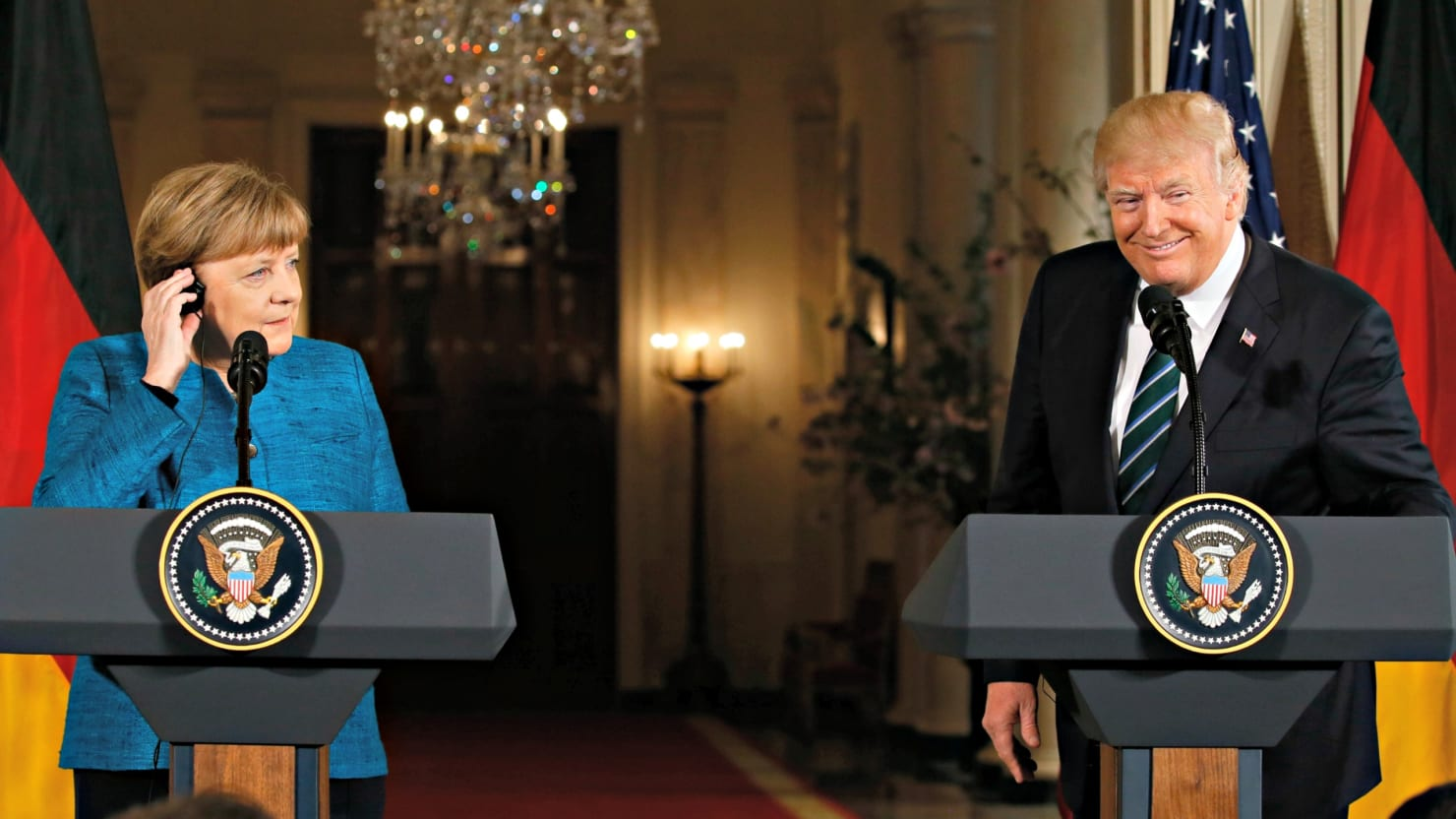 Trump meets the german press and they laugh at him the american president meeting his german counterpart keeps taking victory laps ripping reporters and ignoring the substance of tough questions m4hsunfo