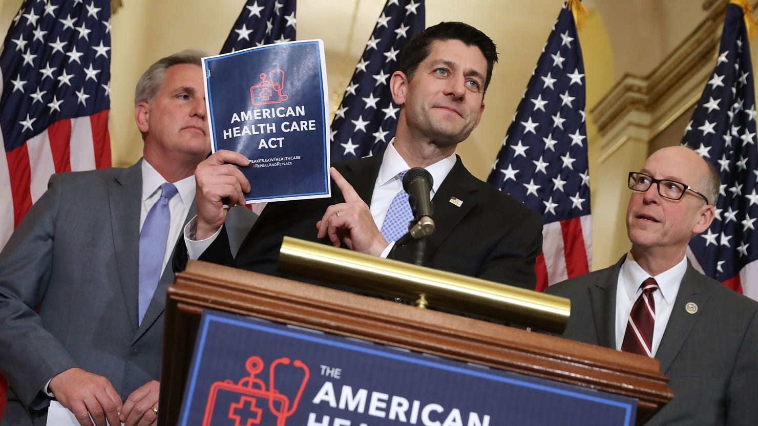 Health Care Reform - Magazine cover