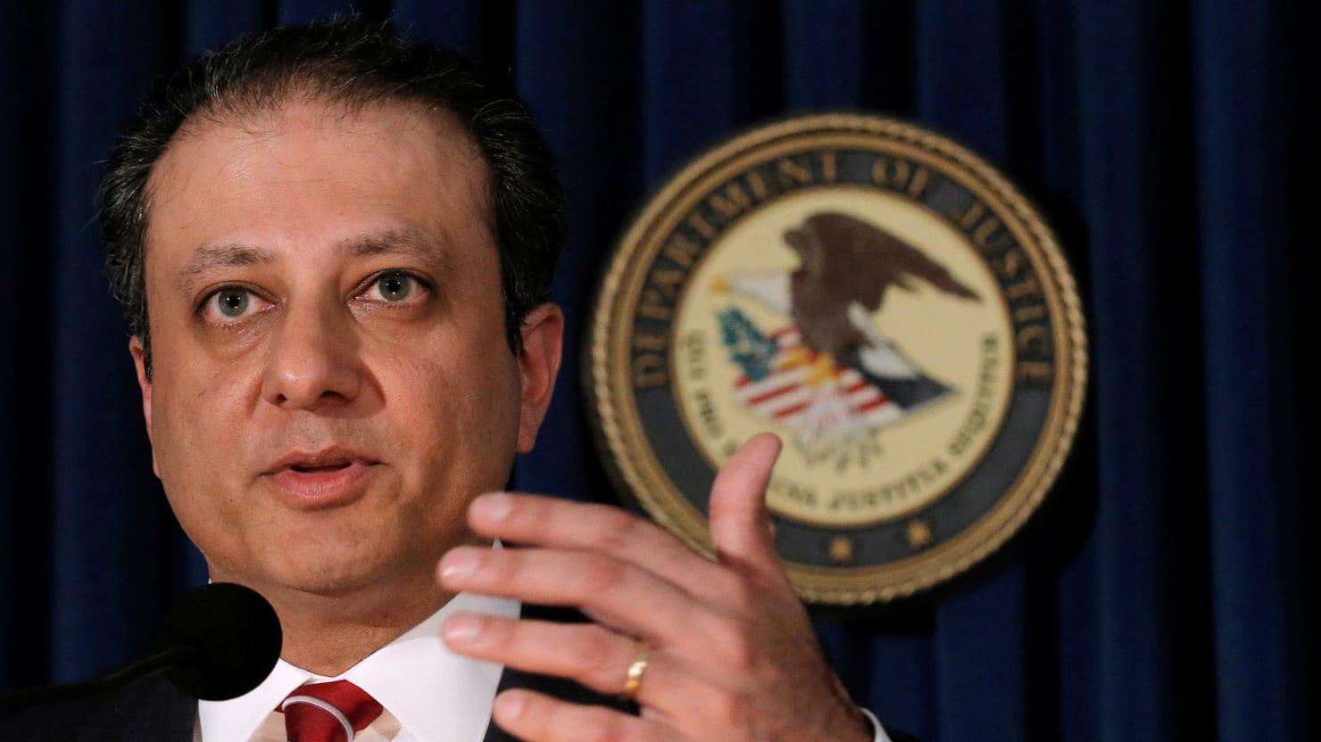 New York Attorney Preet Bharara