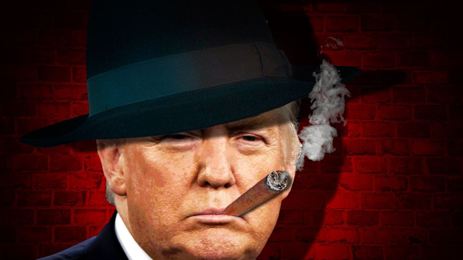 Image result for trump gangster