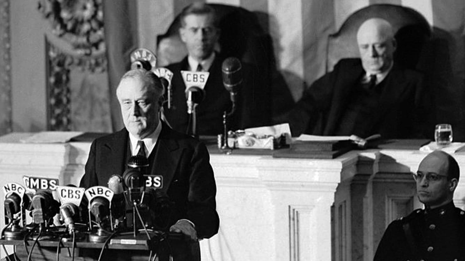 Watch Franklin D. Roosevelt's Day of Infamy Speech After Pearl ...
