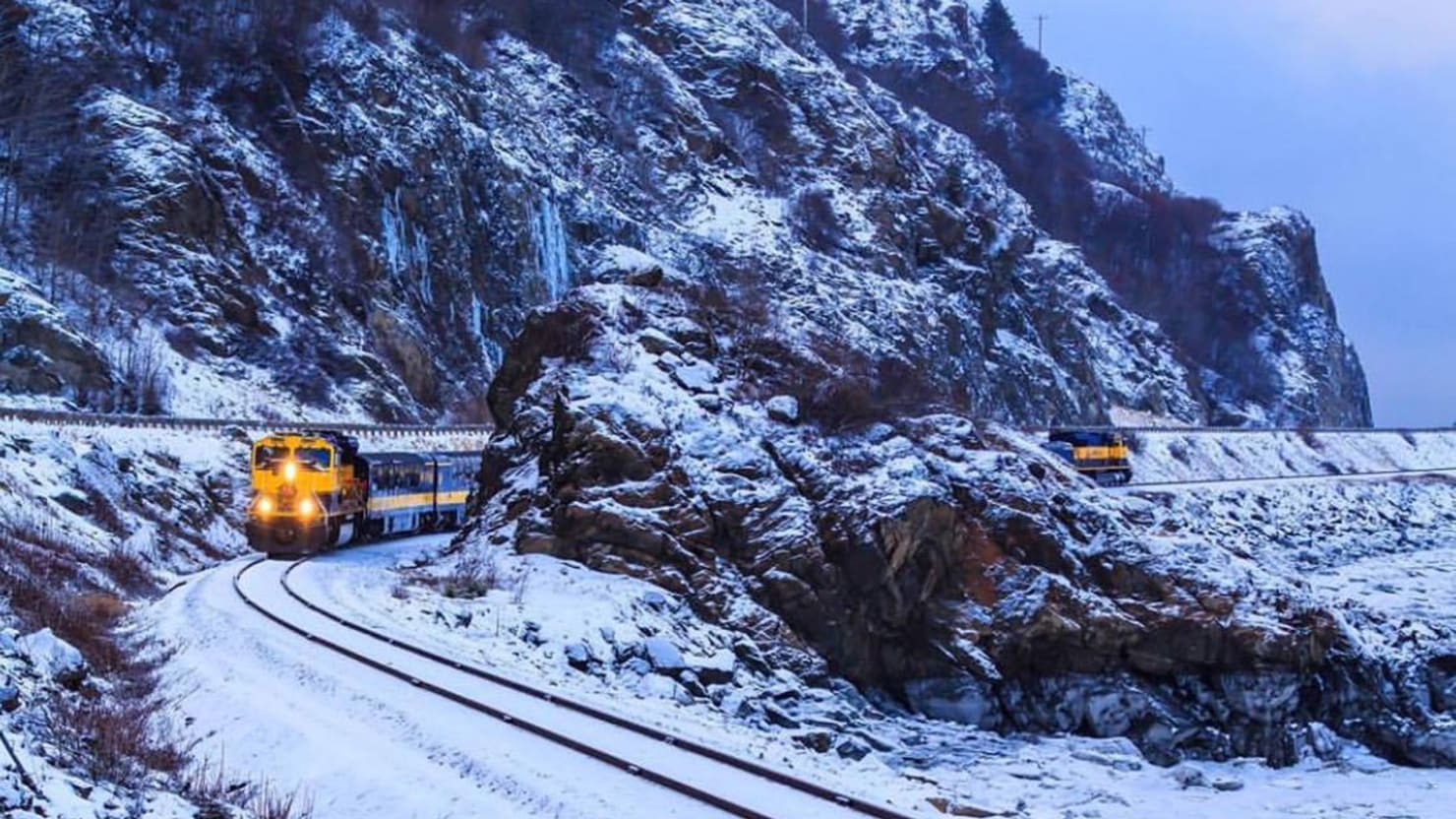 Extreme North: Riding a Caboose to the Alaska Railroad's Wintry Frontier