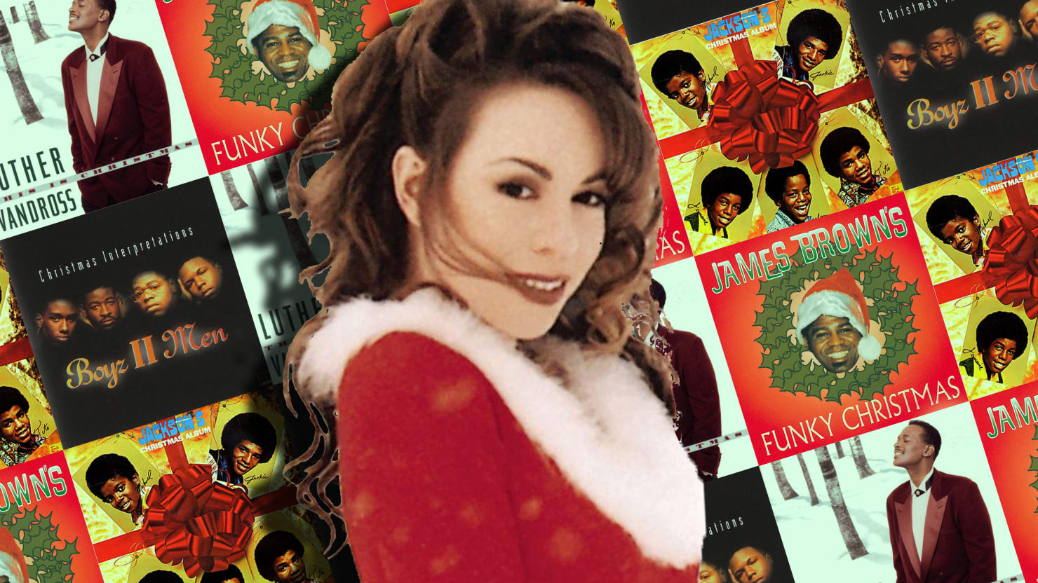 10 best christmas soul and rb albums mariah carey boyz ii men jackson 5 and more - Boys To Men Christmas