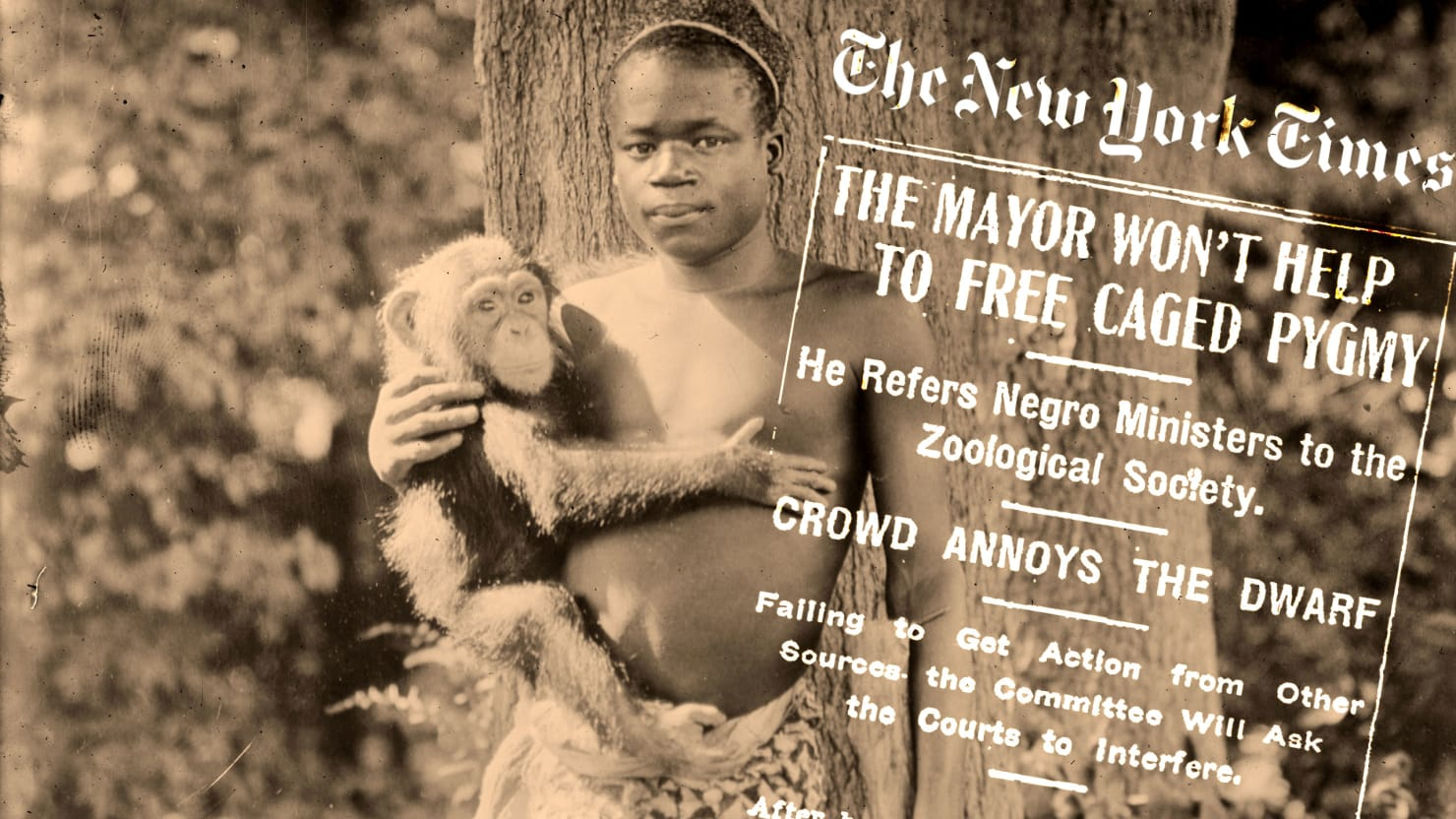 When The New York Times Defended Putting a Black Man in the Bronx Zoo